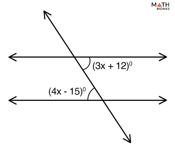 Alternate Interior Angles – Definition & Theorem with Examples